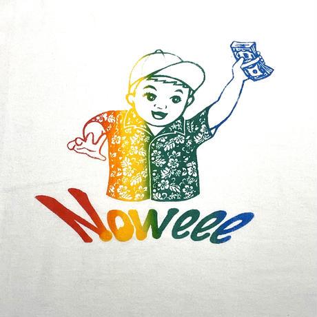 NoweeeオリジナルTシャツ〜Noweeeロゴ③〜【ホワイト】
