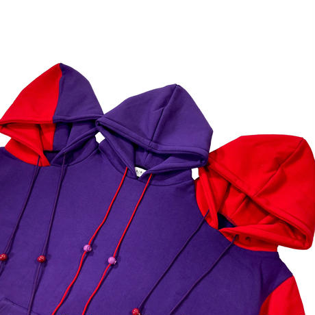 Oversized Three Head Hoodies