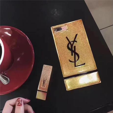 イブサンローラン iPhoneケース キラキラ YSL アイフォン8/7ケース スタイリッシュ 可愛い 女性