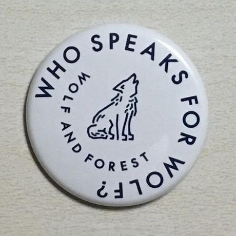 Who speaks for Wolf ? 缶バッジ
