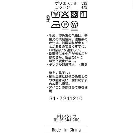 TRATTO [ 31-7211210 ] SOLDEFENDERポンチ【ストレートパンツ】 - ブラック(19)
