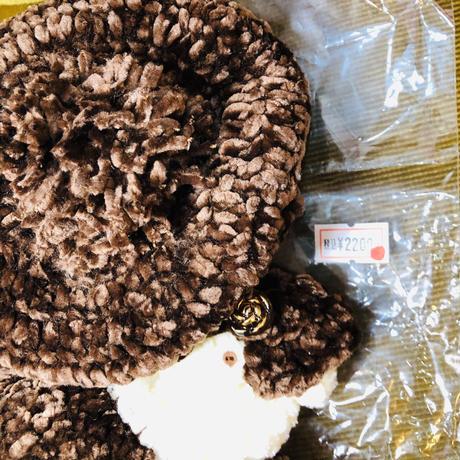 チョコレート色のニットワンピースセット(ネオブライスドールとリカちゃん兼用OF)