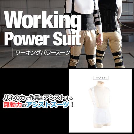 ワーキングパワースーツ AG-010 【ホワイト】