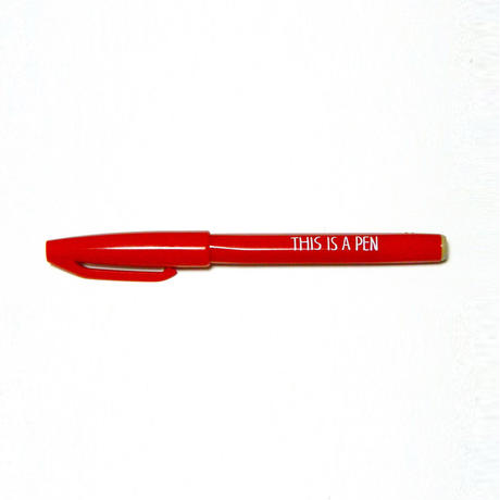 THIS IS A PEN(赤)