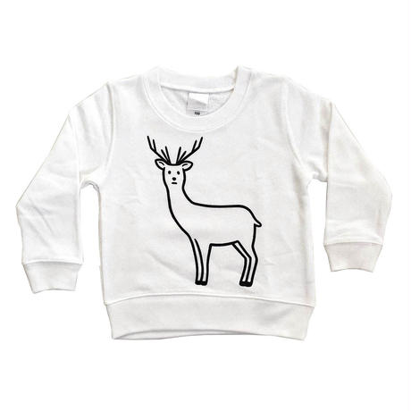 SAFE DEER (sweat/white/KIDS)