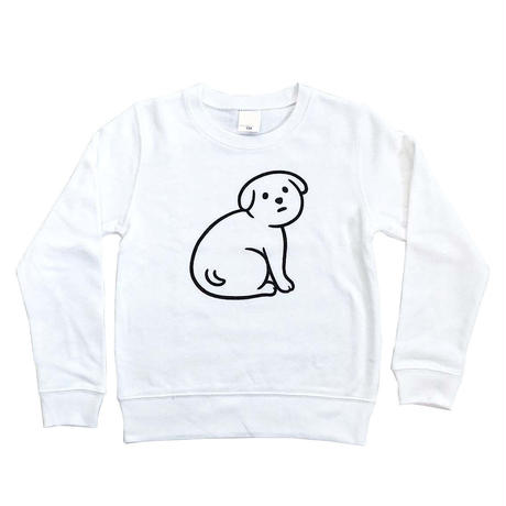 NOT SCARY DOG (sweat/white)