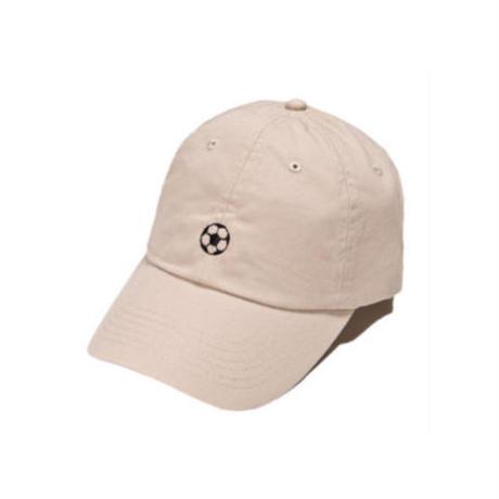 SOCCER BALL CAP(white/beige/navy)