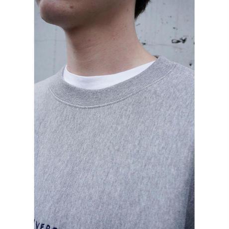 UP+N 20AW CREW NECK SWEAT (gray)