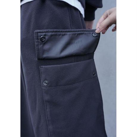 UP+N 20AW FLEECE CARGO PANTS (black)