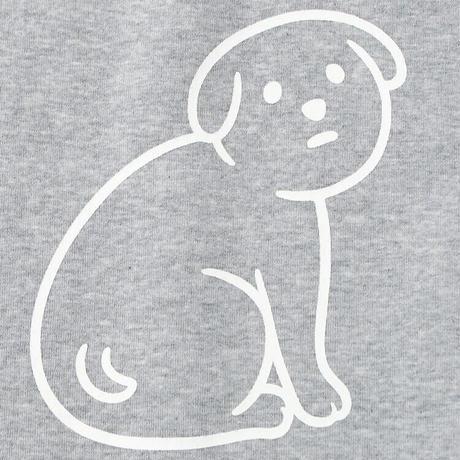 NOT SCARY DOG (sweat/gray)
