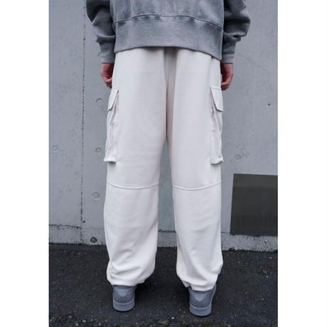UP+N 20AW FLEECE CARGO PANTS (white)