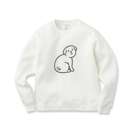 NOT SCARY DOG (sweat/white)