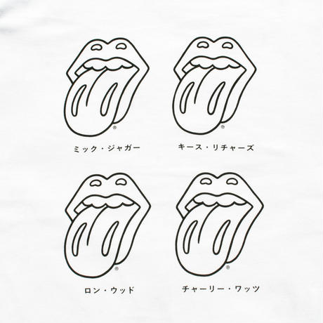 ROLLING STONES (white)