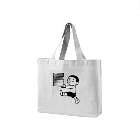 HAPPY BOOK BOY (tote bag)