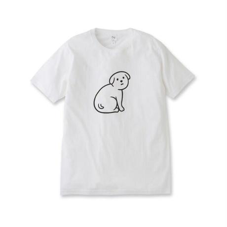 NOT SCARY DOG (white)