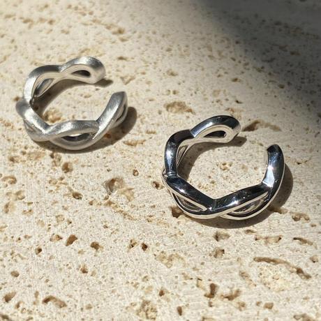Ear cuff 03 silver