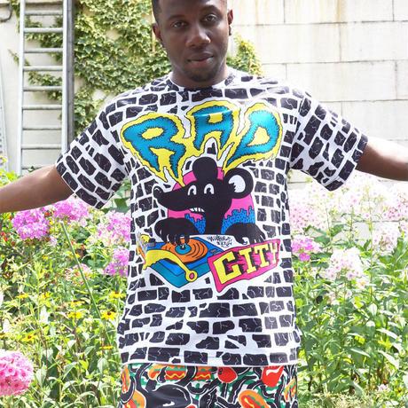 RAD CITY ALL OVER PRINT T-Shirts〈NZ001-1〉
