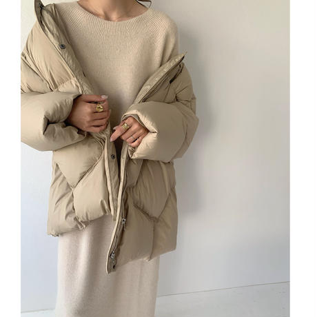 【即納】raccoon knit OP