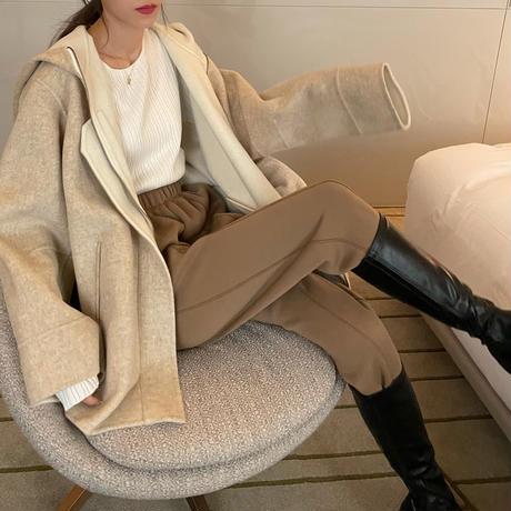 Wool Rever Hoodie