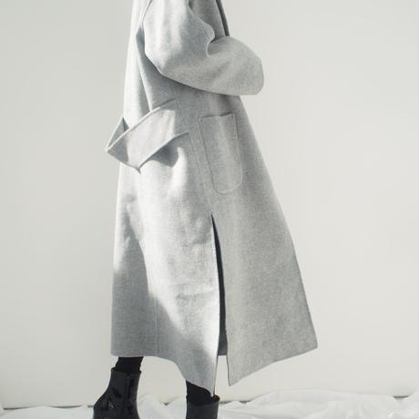 ハンドメイドウールコート