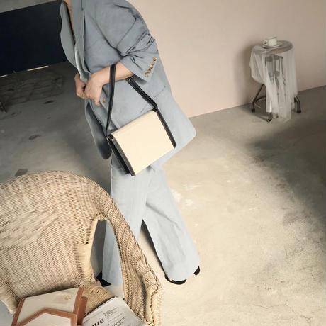 Linen × Cotton PT【即納】