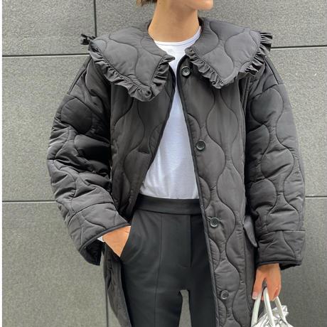 2way Collar Quilt Coat