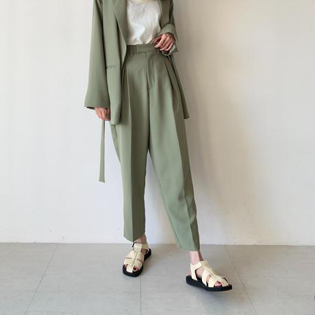 eco leather belt sandals[select/予約]