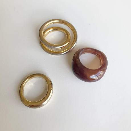 Bekkou×Gold Ring(3set)