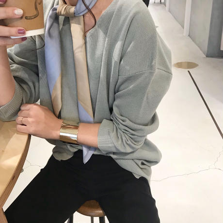 V cutting Spring Knit【3月中旬より順次発送】