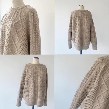 【即納】3D ami knit