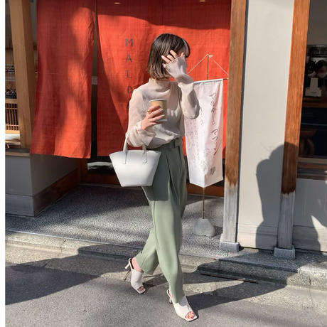 white bucket bag[select/予約]