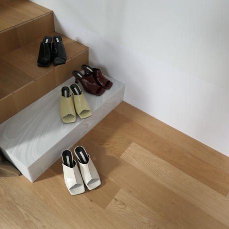 color heel open mule[select/予約]