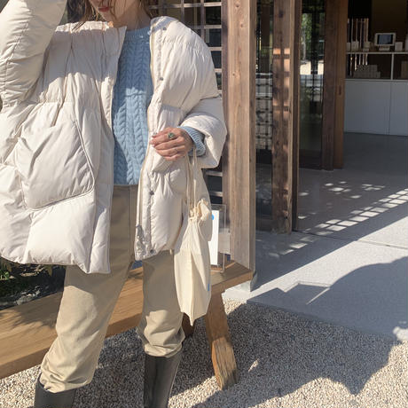 【即納】(ivoryのみ) 'NUEmade' down coat