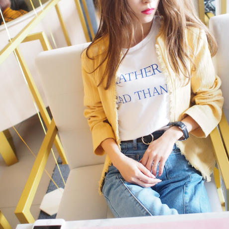 Rather be Dead than Cool Tee【即納】