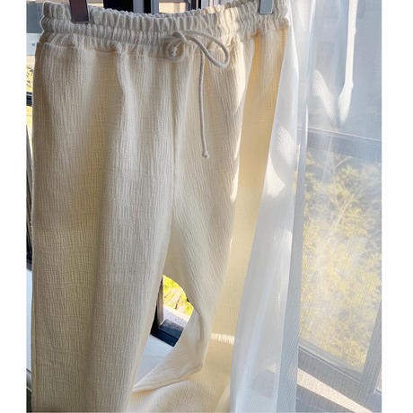 Drawstring cotton PT