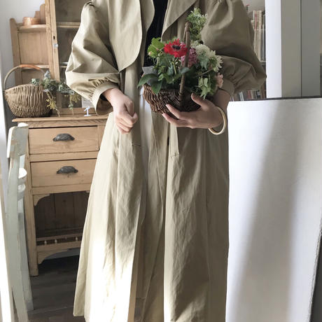 looseシルエット trench coat【即納】
