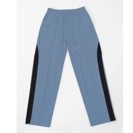 [ NuGgETS × JOHNDOE ]  Line Field Pants  #Ice gray