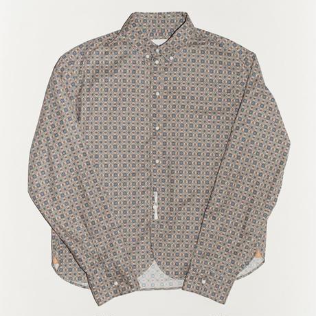 Classic BD Shirt  #White×Pink
