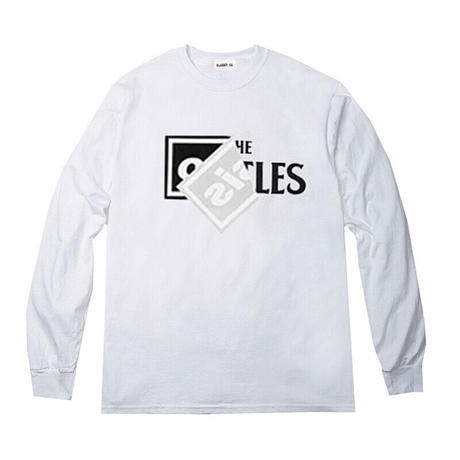 "[new items] ""Roots"" L/S tee  #White"