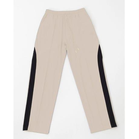 [online store限定色]  Line Field Pants  #Sand beige