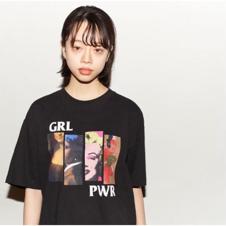 """""""GIRL POWER"""" s/s tee #Black"""