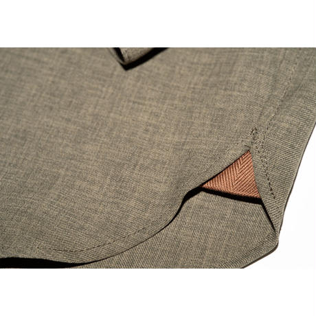 [online store限定] Classic BD Shirt - Linen  #Olive