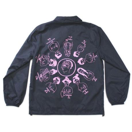 """Oiran""Coach jacket #Black - by SHUNTAROU TAKEUCHI × RYUHEI KOBOSHI"