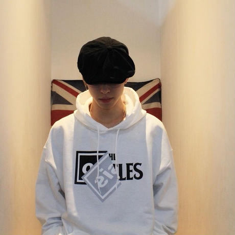 """Roots"" Hooded parka  #White"