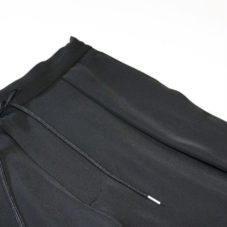 Slim easy pants #Black