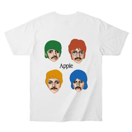 """Apple"""" s/s tee #white"""