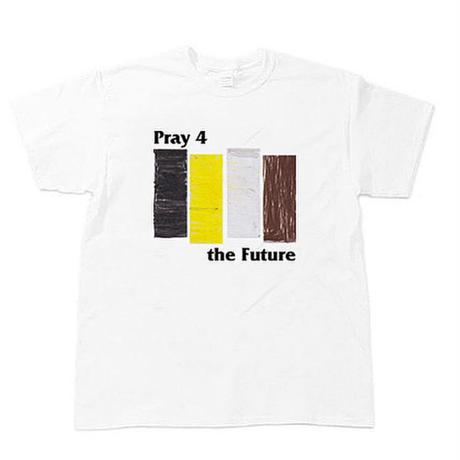 "[charity]  ""4 Pray the future"" s/s tee  #White"