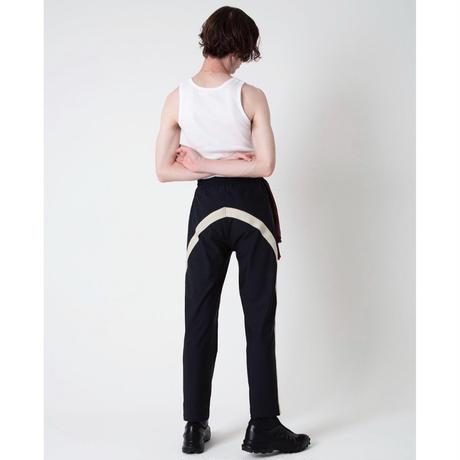 Line Field Pants  #Black[ NuGgETS × JOHNDOE ]