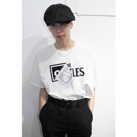 """Roots"" S/S tee  #White"