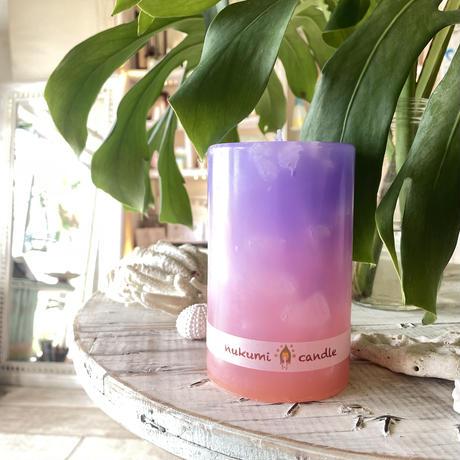 Pillar color candle